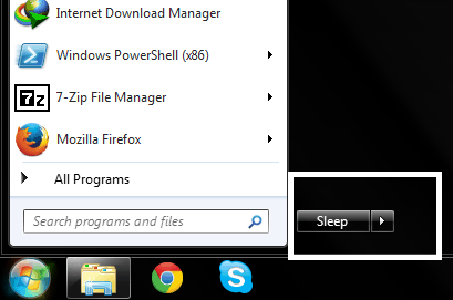 how to change power button settings