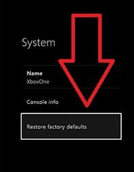 how to reset xbox one to sell