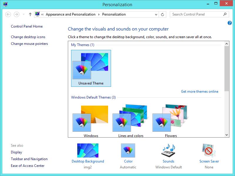 Скачать персонализацию windows 8.1 торрент