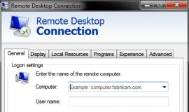 Remote Desktop Connect
