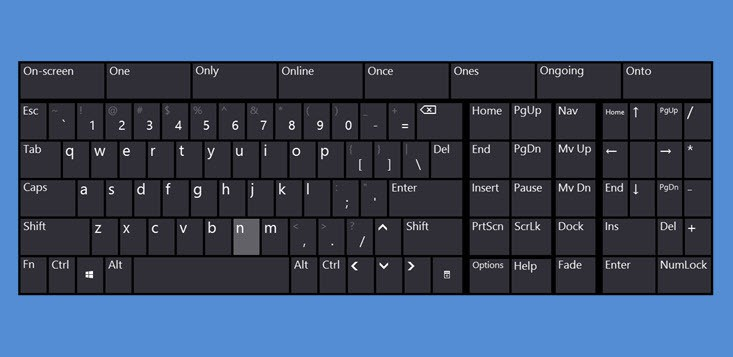how to use the on screen keyboard in windows 8 1 filecluster how tos. Black Bedroom Furniture Sets. Home Design Ideas