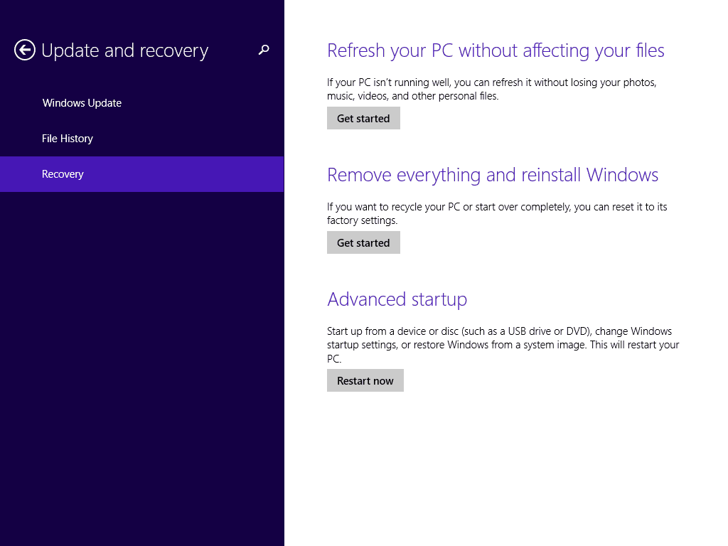 how to stop automatic repair on windows 8