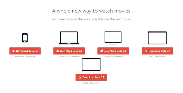 how to use popcorn time on android