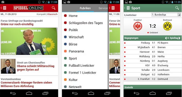 Mobile alternative news apps for Spiegel tv live stream