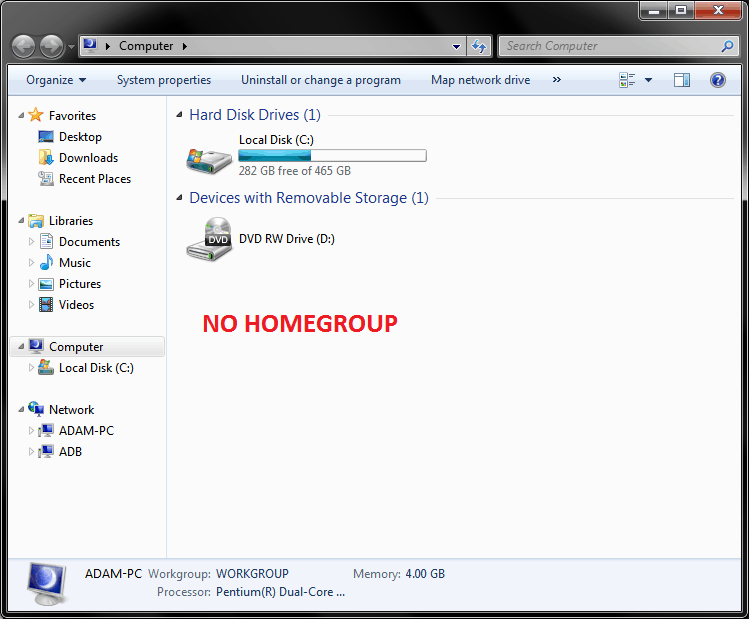 how to create homegroup in windows 7