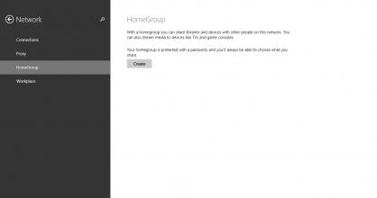 HomeGroup Create