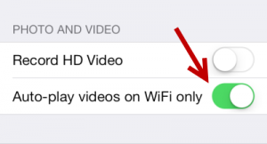 Stop Facebook Autoplay iOS