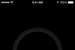 iOS Compass Calibrate