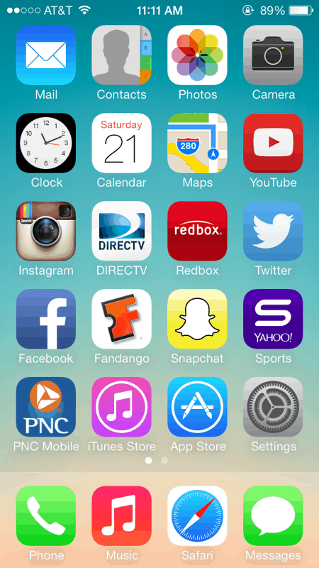 How To Rearrange App Icons On Your Ios Home Screen