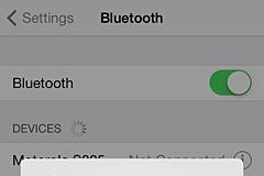 Bluetooth Error iOS