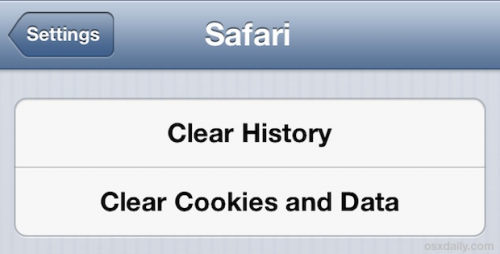 how to clear safari history on iphone how to clear the cache of major browsers on ios 19924