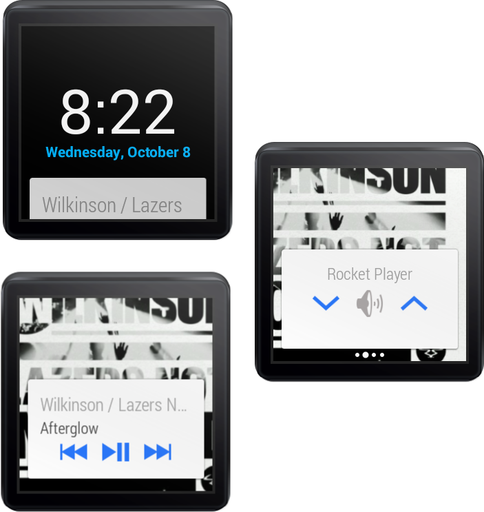 Android Wear Music Controller