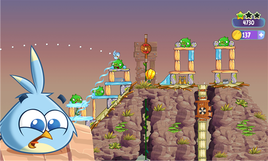 Angry Birds Stella for Windows Phone