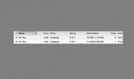 Duplicates iTunes