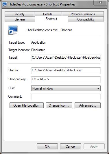 how to create a desktop ini file