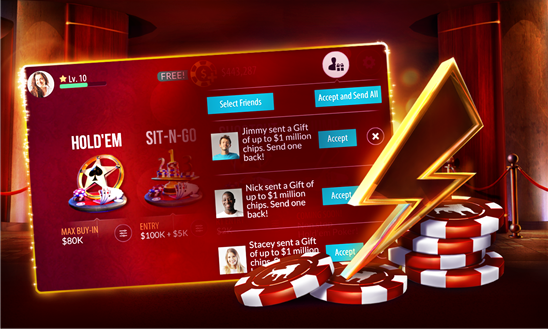 Zynga Poker now available for Windows Phone