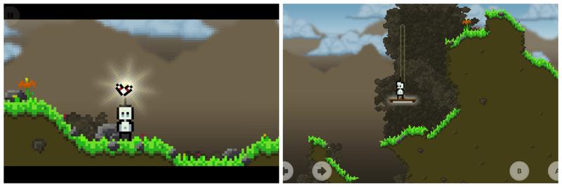 Nubs Adventure gameplay