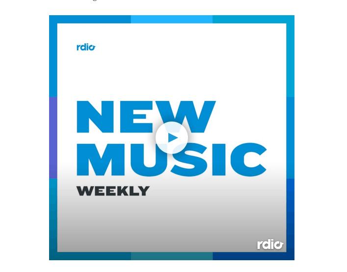 Rdio New Music Weekly