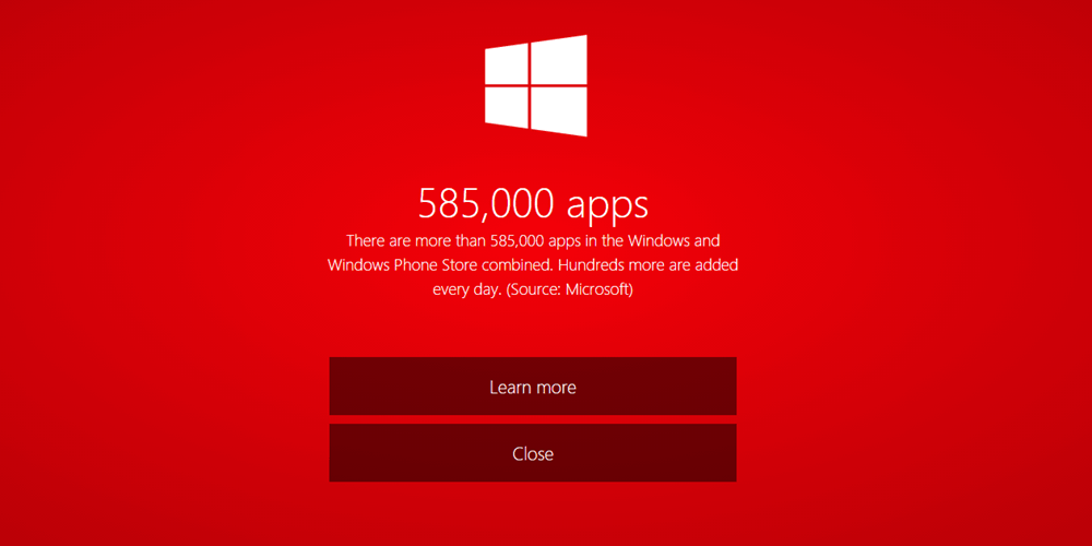 how to search in windows store app