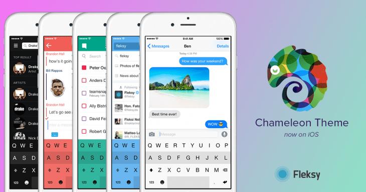 Fleksy Chameleon iOS