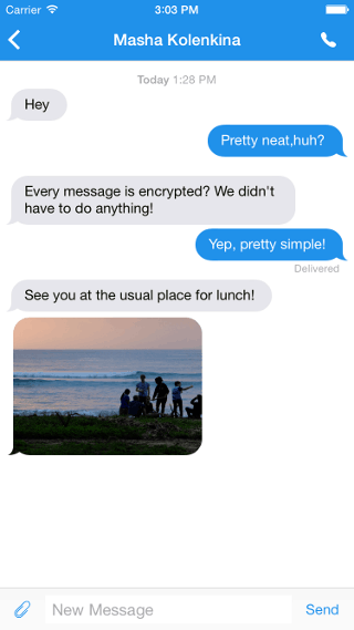 Signal 2.0 for iOS makes encrypted messages between ...