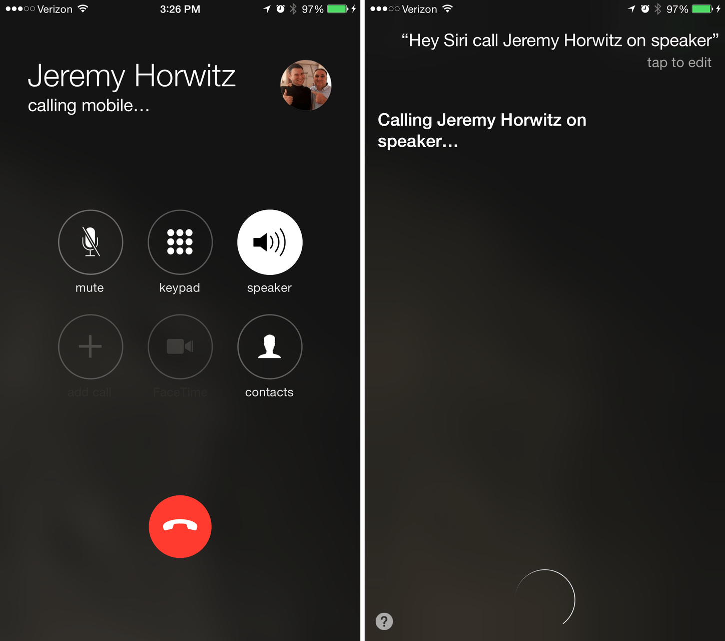 Siri In Ios 8 3 Will Let You Call People On Speaker