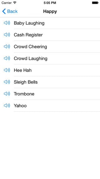 Sound Clips iOS