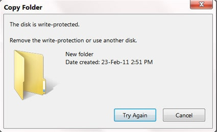 how to remove write protection usb drive