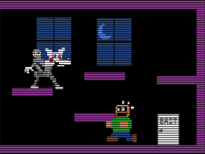 FNaF 3 Mangle's_Quest_Minigame