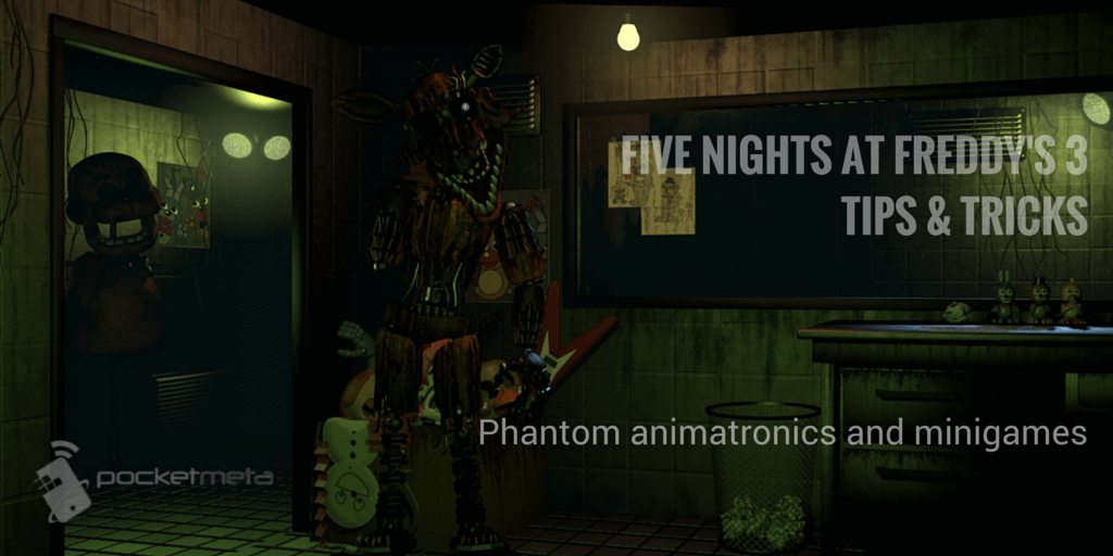 Five nights at freddys 3 animatronics five nights at freddy 39 s 3