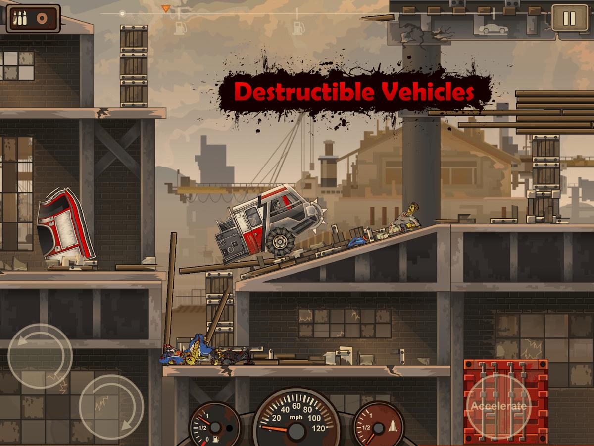 Earn to Die 2 Destructible Vehicles