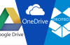 Google Drive, OneDrive, Dropbox