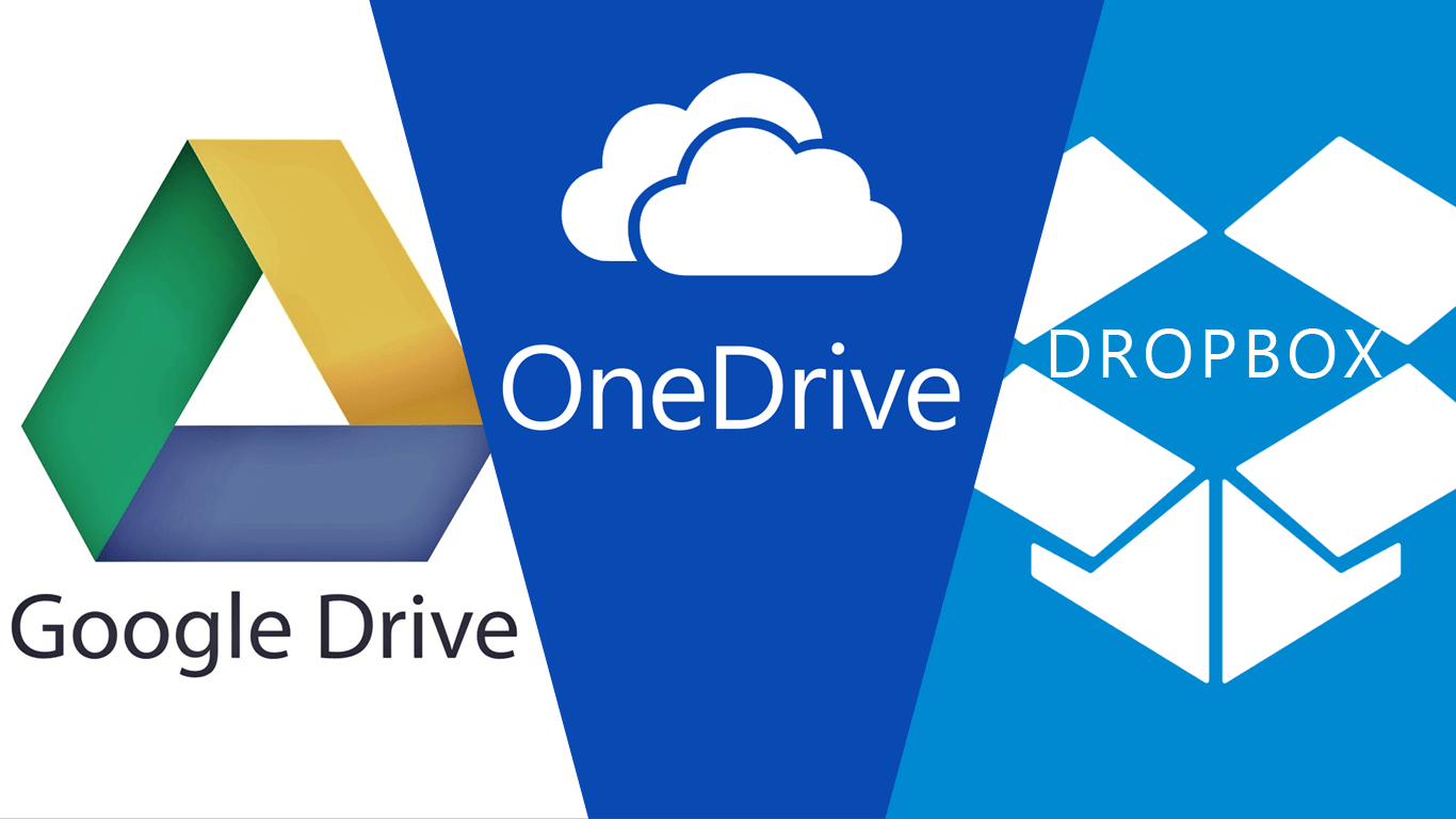 Google Drive: How To: Clear Your Dropbox, OneDrive And Google Drive