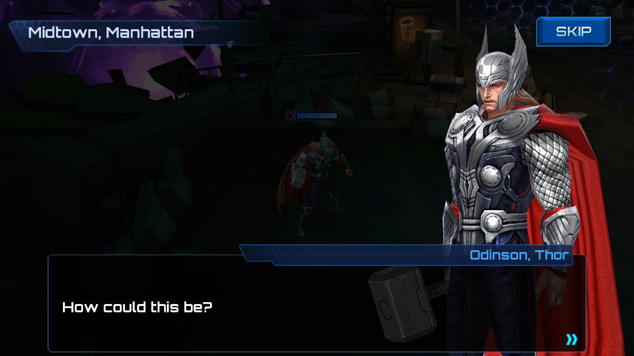 Marvel Future Fight Cutscene