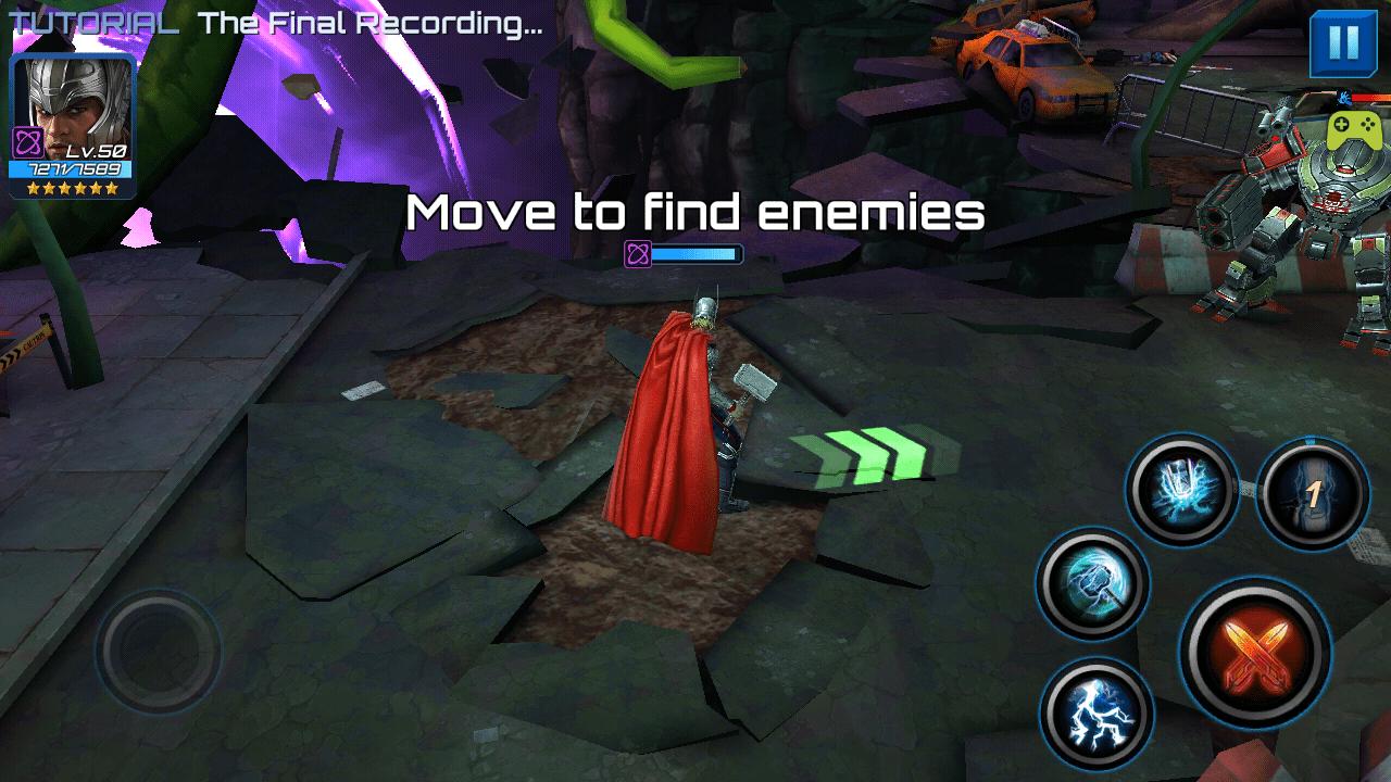 Marvel Future Fight Gameplay