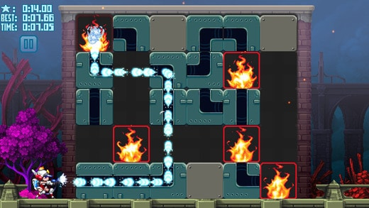Mighty Switch Force! Hose It Down! Puzzle 1