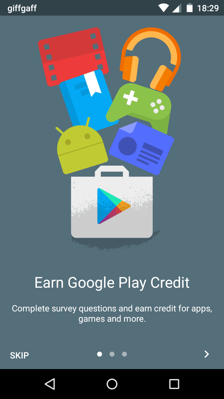 google play credit surveys google opinion rewards earn google play credit by filling 6746