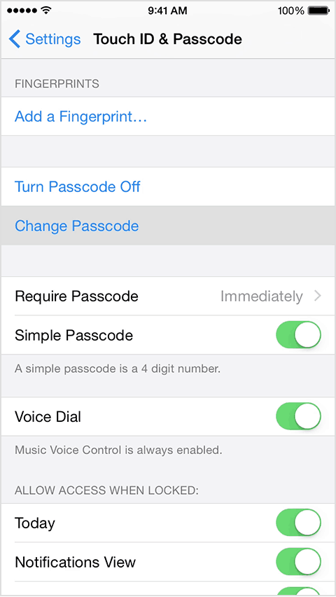 turn off passcode on iphone how to lock your screen with pins patterns and a lot more 8758