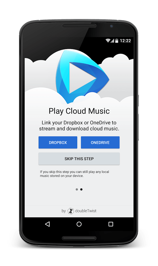 CloudPlayer can play music directly from your Google Drive