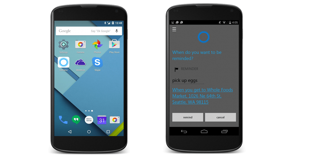 Microsoft's Assistant, Cortana, on Its Way to Android and iOS