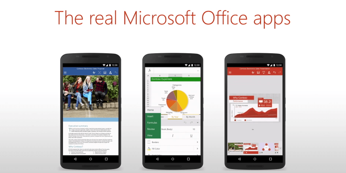 Microsoft office apps for android are now out of beta - Office apps for android free ...