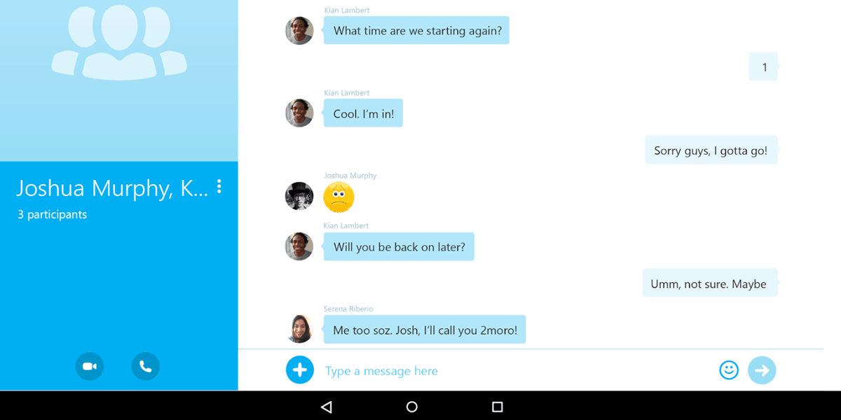 text string bug repeatedly crashes android ios windows skype apps