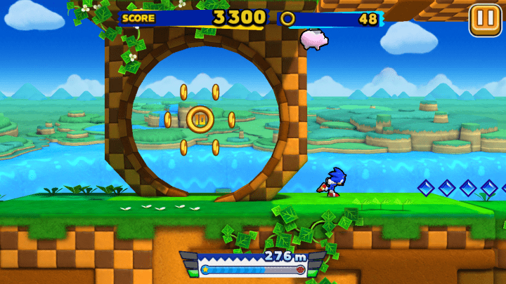 Sonic Runners Gameplay 2