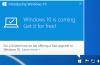 Windows 10 Notification Upgrade