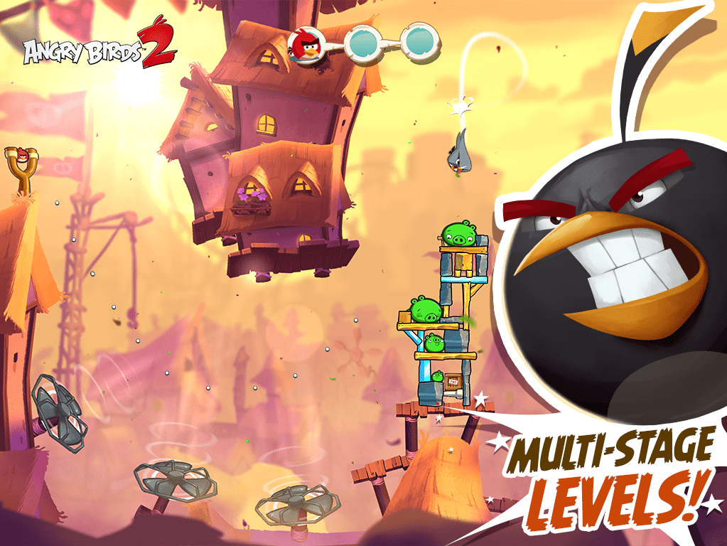 Angry Birds 2 - Rovio's first sequel, is now available for Android and iOS