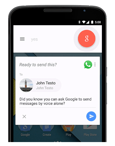 'OK Google' now lets you send IMs using voice commands with Viber, WhatsApp, Telegram and more