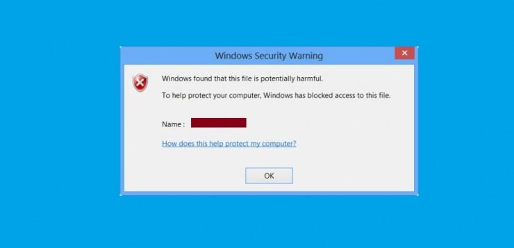 Blocked File