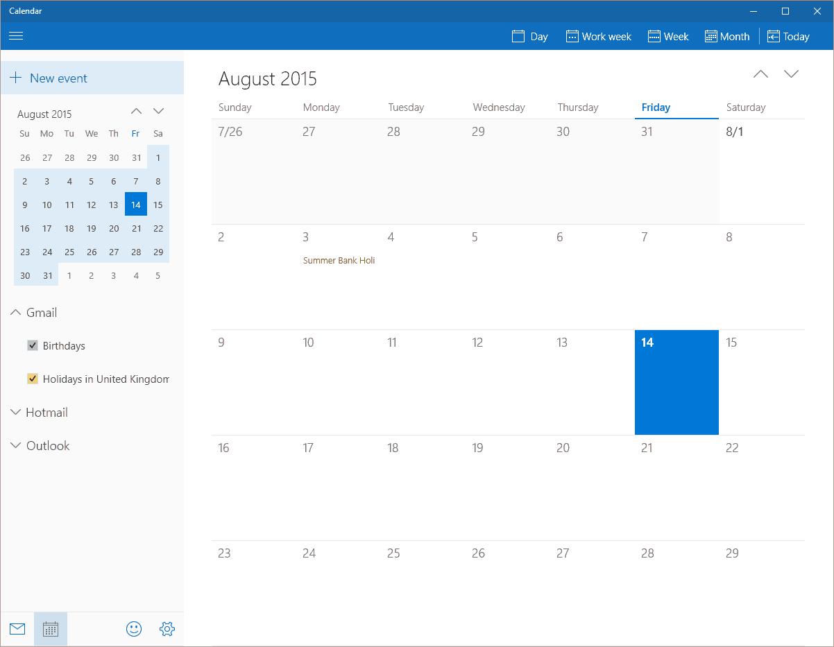 Windows Calendar Google