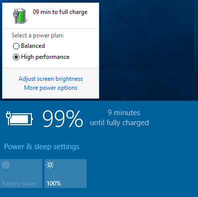 Old vs New Battery Power
