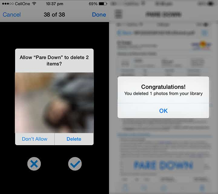 how to delete pictures from your iphone